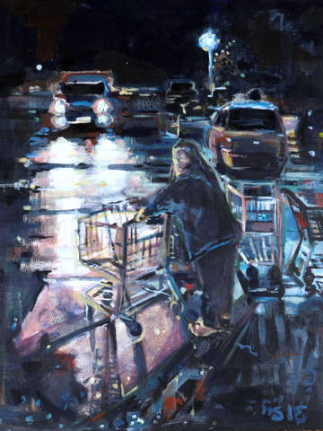 Late night shopper