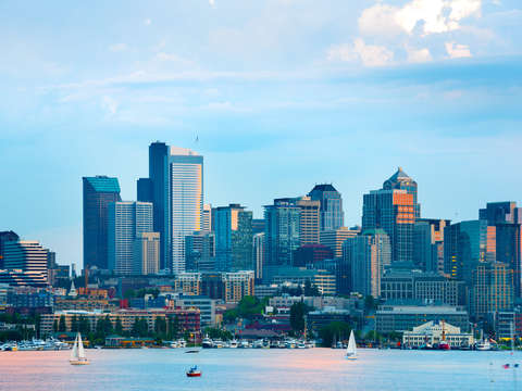 Lake Union and Downtown Seattle