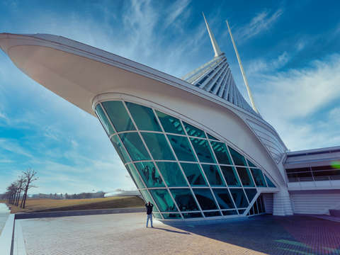 Milwaukee art museum ships bow