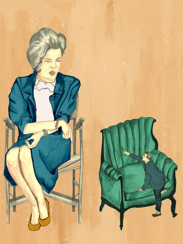 Lady in Chair