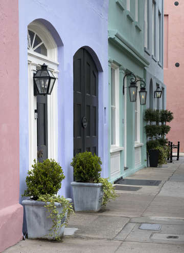 The colors of charleston