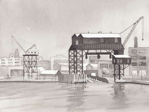 Newtown shipping dock