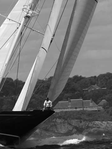 J class hanuman black white 2009 newport bucket re