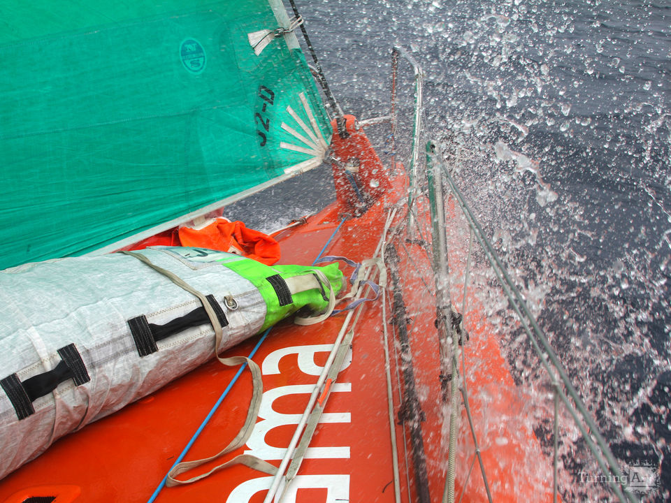 On the bow of groupama