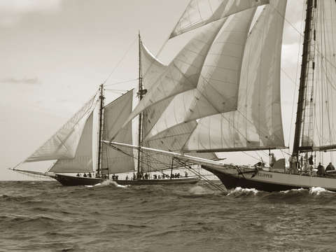 Start of 2006 gloucester schooner race