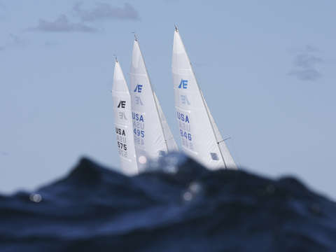 Etchells behind the waves
