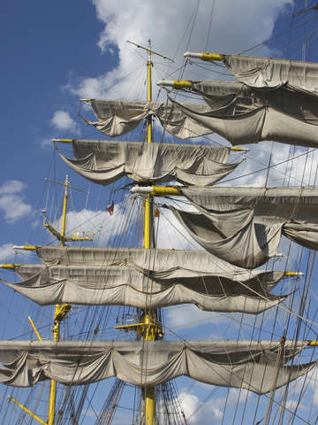 Tall ships mircea sails aloft