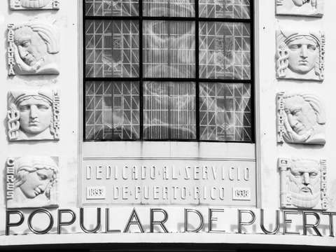 Banco Popular de Puerto Rico (black/white)