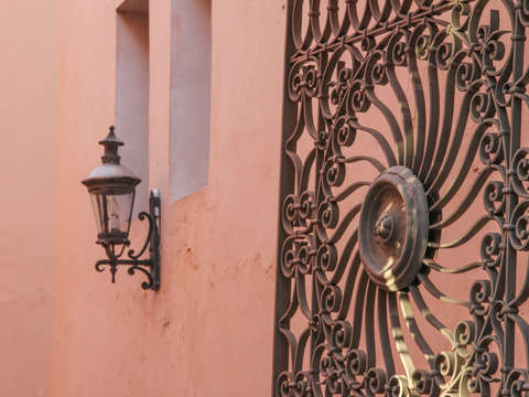 Ornamental iron ponce puerto rico color